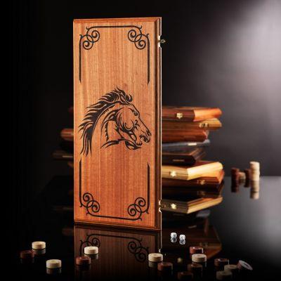 "Backgammon ""Mustang"" (Black Body)"