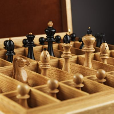 """Chess """"Classic"""" (Black and White Shapes)"""