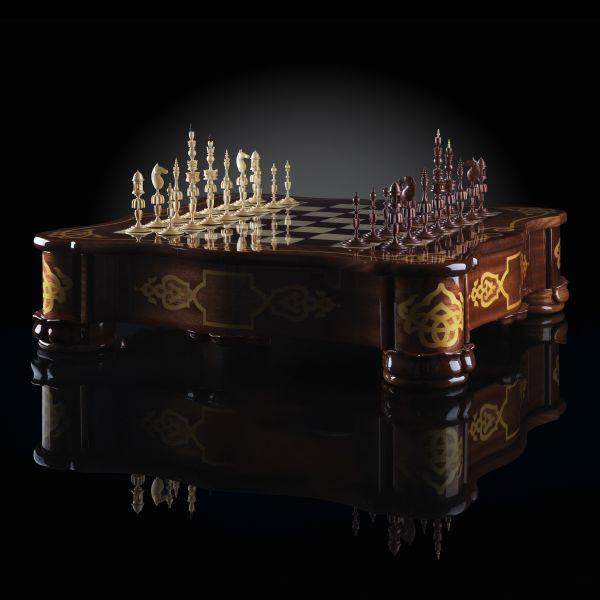 """Chess """"Selenius"""" Aristocrat"""