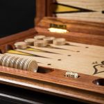 """Backgammon """"Arkhyz"""" With A Bright Playing Field"""