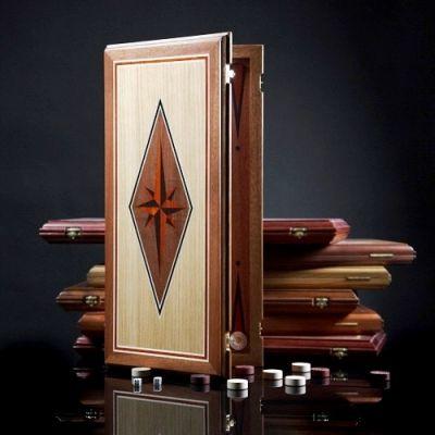 "Backgammon ""Fantasy"" Dark Board"