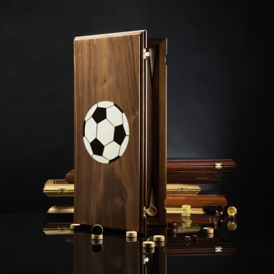"Backgammon ""Premier"" League Walnut"