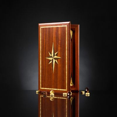 "Backgammon ""Book of Elite"" Paduk"