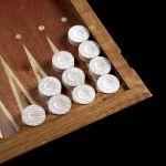 "Backgammon ""Crown"" (Dark Body)"