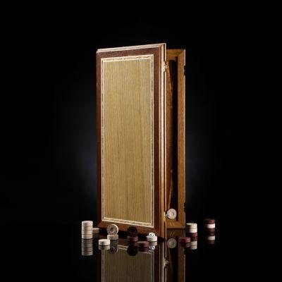"Backgammon ""Laying"" Dark Board"
