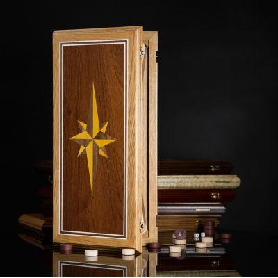 "Backgammon ""Windrose"" Light Board"
