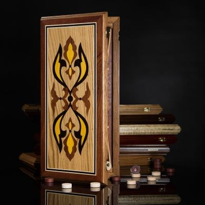 "Backgammon ""Salamander"" Dark Board"