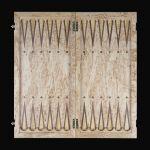 "Backgammon ""Northern Palmyra"" Karelian Birch"