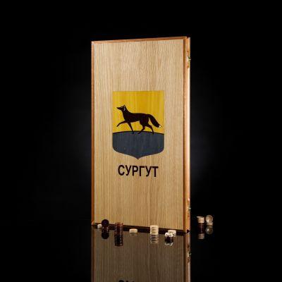 "Backgammon ""Surgut"" Light Board"