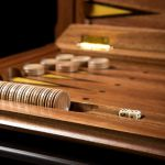 """Backgammon """"Surgut"""" Dark Board"""
