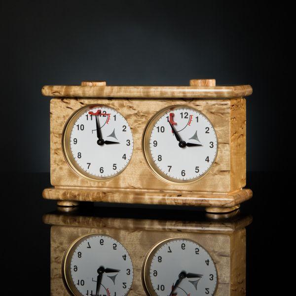 Chess Clock Karelian Birch