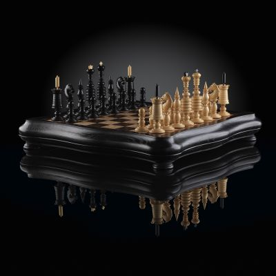 "Chess ""Barleykorn Luxury Empire"""