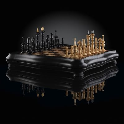 "Chess ""Calvert Luxury Empire"""