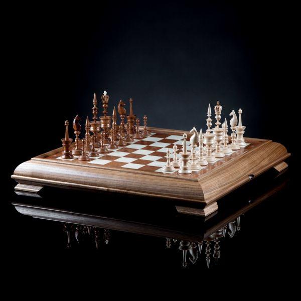 "Chess ""Selenius"" Dark Board"
